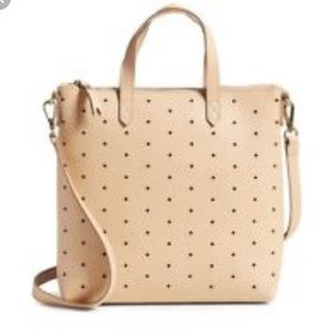 Madewell Beige Holepunch Transport Tote